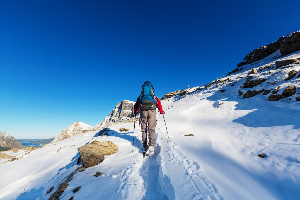 Glacier National Park Winter Activities and Things to Do