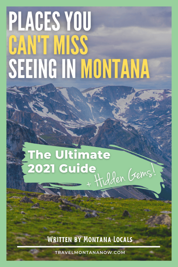 If you're dreaming of seeing exactly why Montana is called Big Sky Country, then you need to get yourself to one of these places in Montana asap to see for yourself what makes Montana such a special destination. These are places in Montana that you won't want to miss  on your Montana vacation and at least one should be on your itinerary (if not more!).