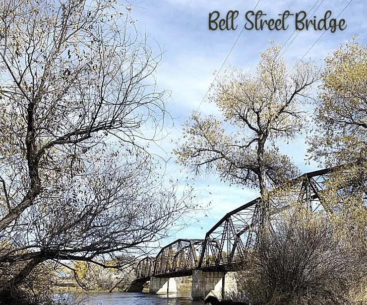 Bell Street Bridge in Glendive, Montana