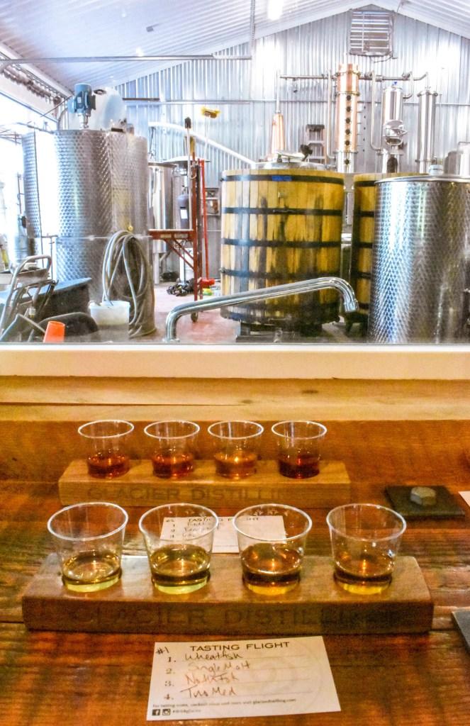 Whiskey Tasting in Coram, Montana near Glacier National Park