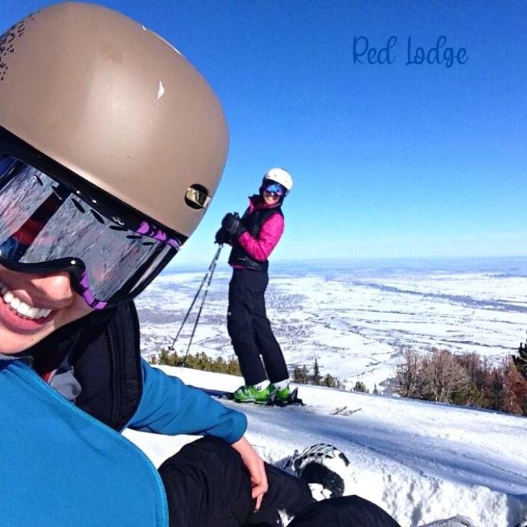 Skiing at Red Lodge: a great Montana winter getaway.