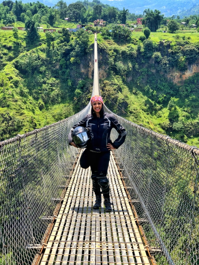 Kushma Suspension Bridge