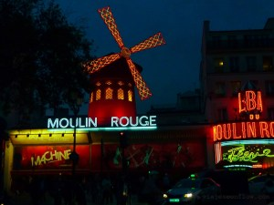 Moulin Rouge en París