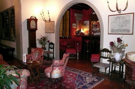 one of the lovely sitting rooms