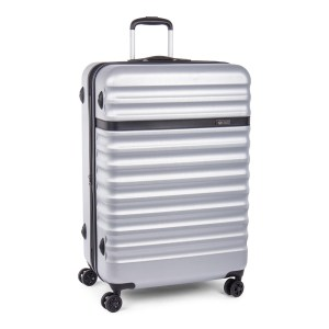Bugatti Hard case carry-on Luggage Silver HLG1603-silver angle