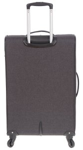 AIR CANADA 24 SOFTSIDE UPRIGHT SUITCASE CHARCOAL C0629 Back