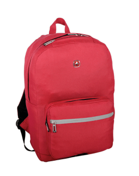 Swiss Gear 15.6 Laptop Backpack Red Front 1