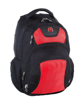 Swiss Gear Polyester Backpack Red-Black SWA2512-167 Front 1