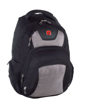 Swiss Gear Polyester Backpack Red-Black SWA2512-216 Front 2