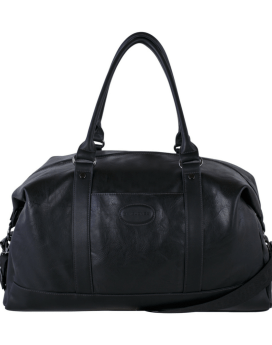 David Jones PU Weekender DJ2040 Black Front 1