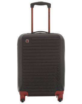 Swiss Gear Monte Delant 20 Hardcase Carry-On Luggage SW15770 Black Front