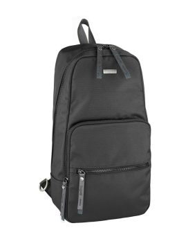 Bugatti Contratempo Sling Backpack 49839001 Black Front