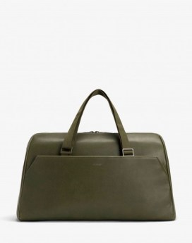 Matt and Nat Blake Weekender Bag Vintage Collection Olive Front