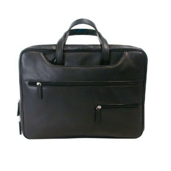 Tech-rite Computer Briefcase 455743 Black Back