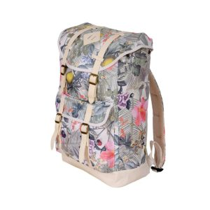 Jetstream Classic Laptop Travel Backpack A2151 Floral Side