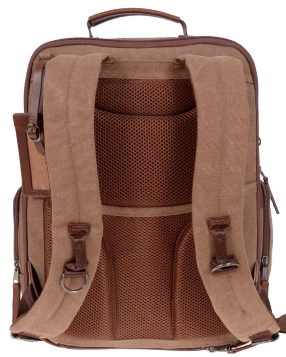 Renwick Business Backpack A2150-Brown Back