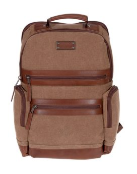 Renwick Business Backpack A2150-Brown Front 1