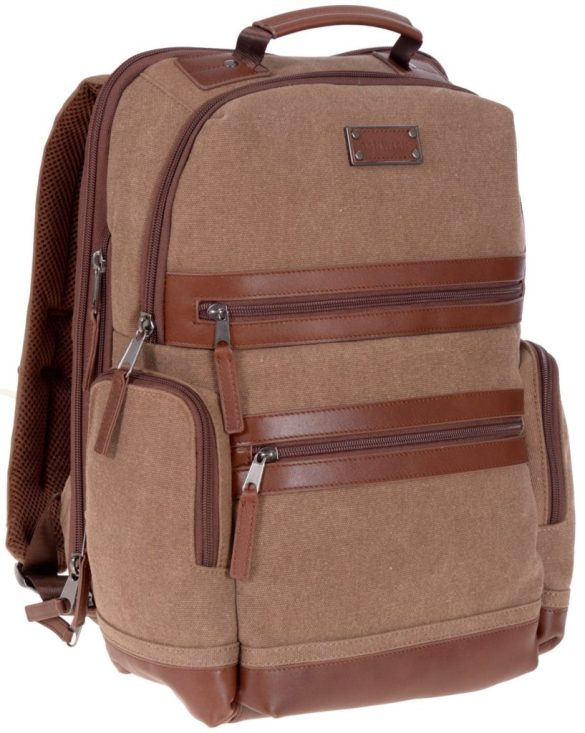 Renwick Business Backpack A2150-Brown Side