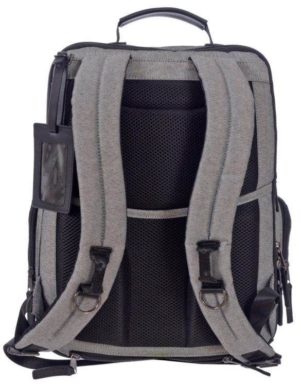 Renwick Business Backpack A2150-RW Grey Back