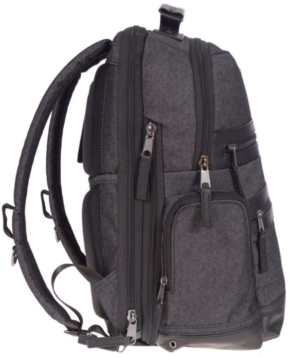 Renwick Business Backpack A2150_RW Black Side Right