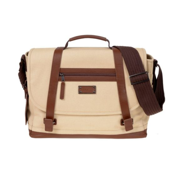 Renwick Messenger Shoulder Bag with RFID Protection E0500 RW Cream Front