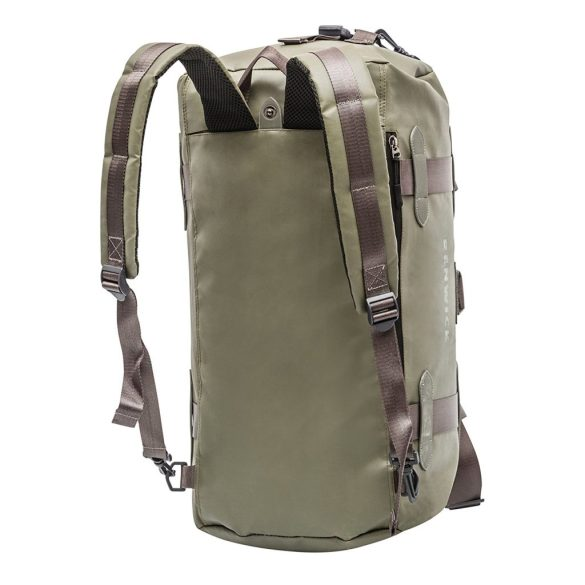 Renwick Travel Roll Top Duffel Bag with Backpack Straps B0380 RW Green Backpack