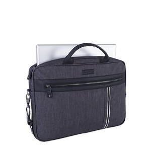 Roots 73 17.3inch Laptop Bag RTS3461 Grey Front Computer