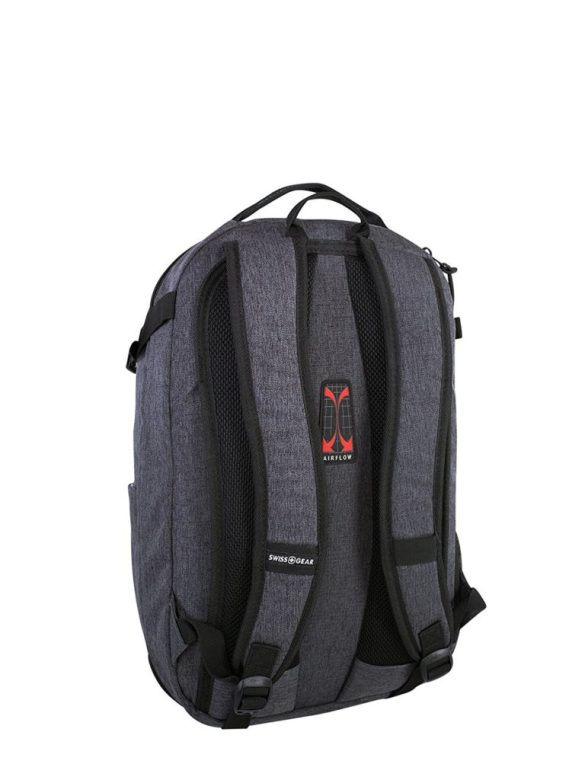 Swiss Gear Getaway 15.6 inch Laptop Backpack SW22308 Grey Back