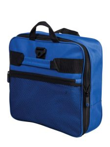 Atlantic 32 inch Expandable Rolling Duffel AL1232P Navy Folded 1