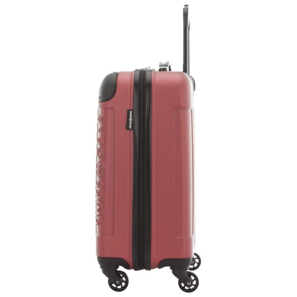 Swiss Gear Significance 20 inch Hardcase Carry-On SW17069 Red Side Left