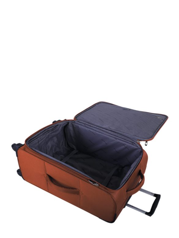 Swiss Gear Super Lite II Collection 24 inch Expandable Spinner SW28574 Burnt Orange Inside