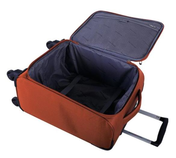 Swiss Gear Super Lite II Collection Carry-On Spinner SW28568 Burnt Orange Inside
