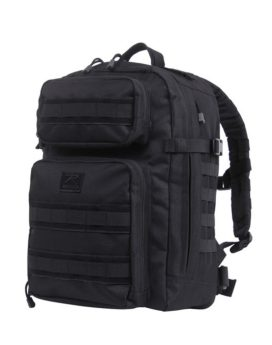 Rothco Fast Mover Tactical Backpack Black 2290 Front