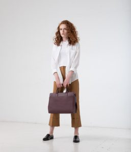 Matt and Nat Gloria Satchel Dwell Collection Fig Model Front