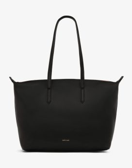 Matt and Nat Abbi Tote Loom Collection Black Front