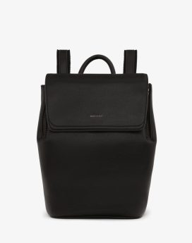 Matt and Nat Fabi Mini Backpack Vintage Collection Black Front