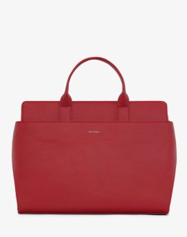 Matt and Nat Gloria Satchel Dwell Collection Red Front