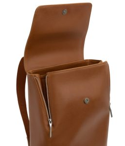 Matt and Nat Fabi Backpack Vintage Collection Chili Matte Nickel Inside
