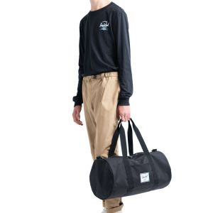 Herschel Supply Co Sutton Duffle Mid-Volume Peacoat Saddle Brown Model