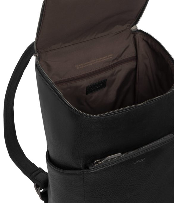 Matt and Nat Brave Backpack Dwell Collection Black SS20 Inside
