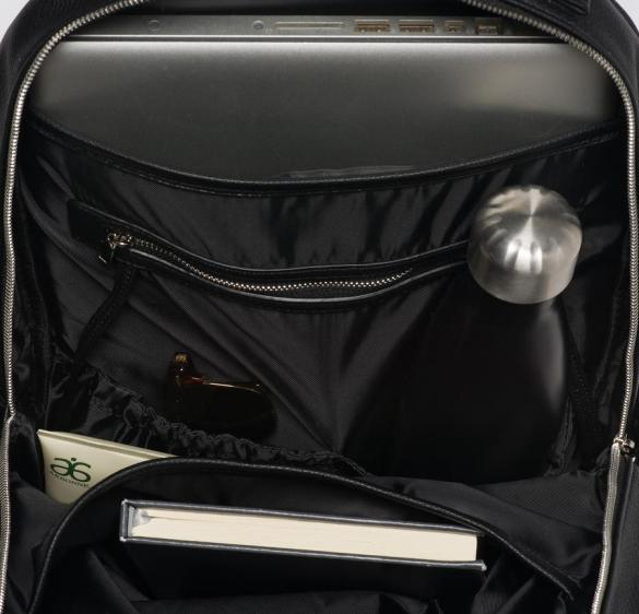Lambert Charlotte Backpack Black Inside