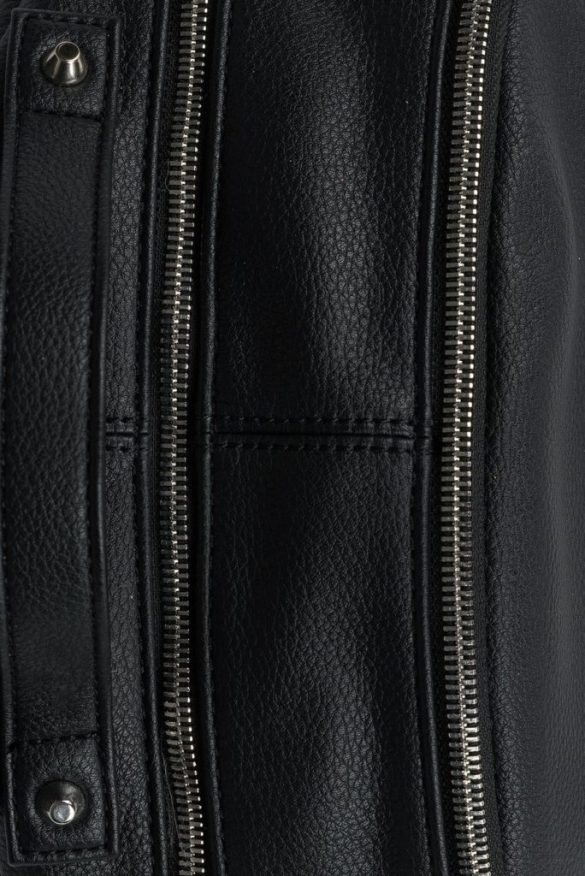 Lambert Charlotte Backpack Black Zipper