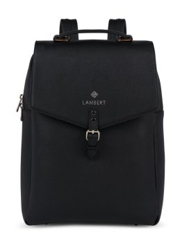 Lambert Jade Backpack Black Front 1