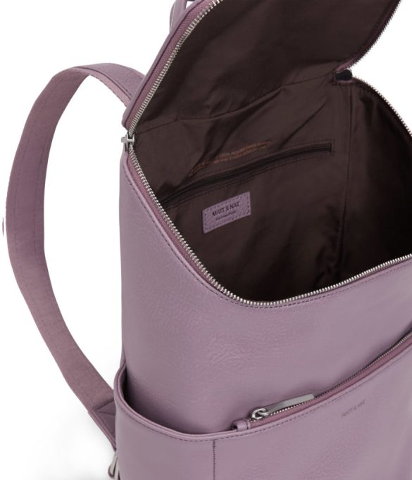 Matt and Nat Brave Backpack Dwell Collection Amethyst Inside