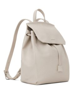 Matt and Nat Mumbai Backpack Dwell Collection Koala Matte Nickel Side