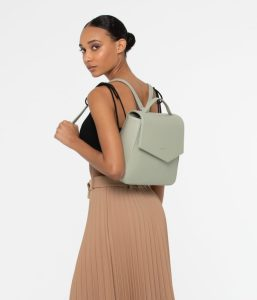 Matt and Nat Quena Backpack Dwell Collection Mojito Model