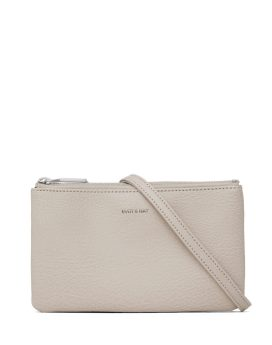 Matt and Nat Triplet Crossbody Dwell Collection Koala Matte Nickel Front