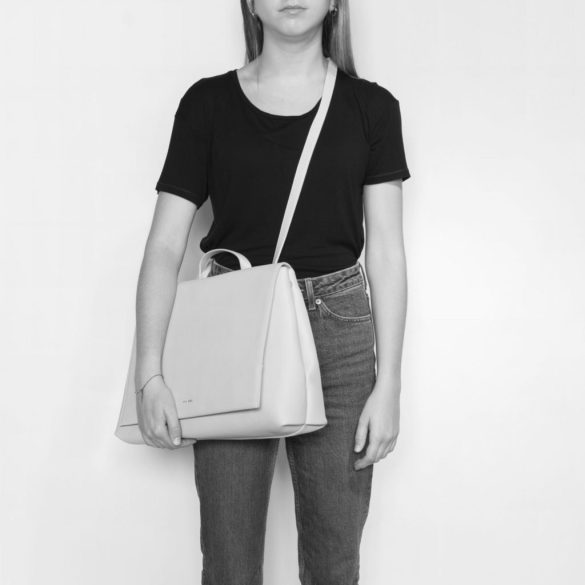 Pixie Mood Janice Large Backpack Apricot Model Front