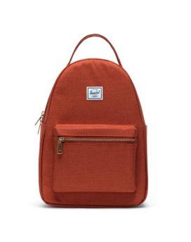 Herschel Supply Co Nova Backpack Small Picante Crosshatch Front 1