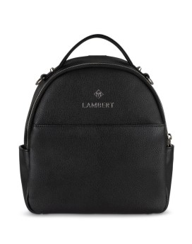 Lambert Charlie Mini Backpack Black Front 1